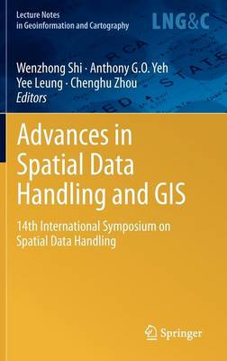 Advances in Spatial Data Handling and GIS: 14th International Symposium on Spatial Data Handling