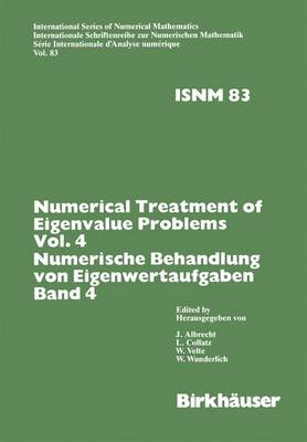 Numerical Treatment of Eigenvalue Problems: v. 4