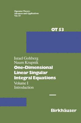 One-Dimensional Linear Singular Integral Equations: I. Introduction
