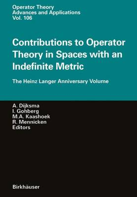 Contributions to Operator Theory in Spaces with an Indefinite Metric