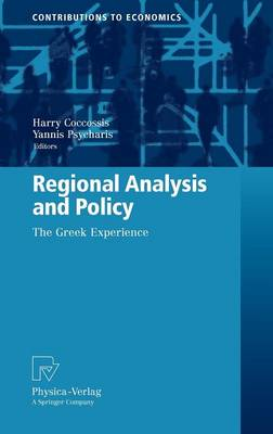 Regional Analysis and Policy: The Greek Experience