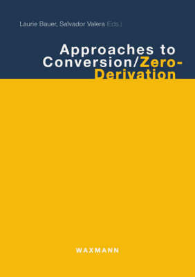 Approaches to Conversion/Zero-derivation