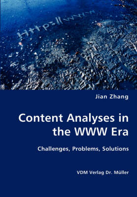 Content Analyses in the WWW Era