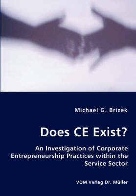 Does Ce Exist? - An Investigation of Corporate Entrepreneurship Practices Within the Service Sector