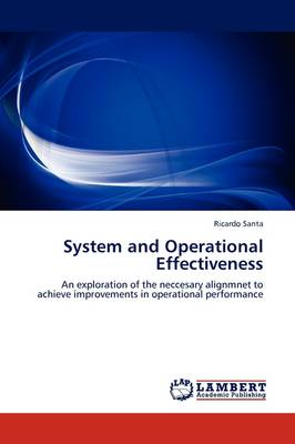 System and Operational Effectiveness