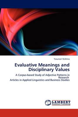 Evaluative Meanings and Disciplinary Values