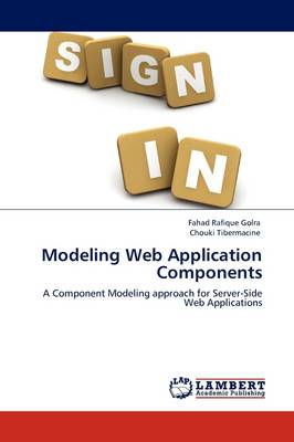 Modeling Web Application Components