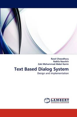 Text Based Dialog System