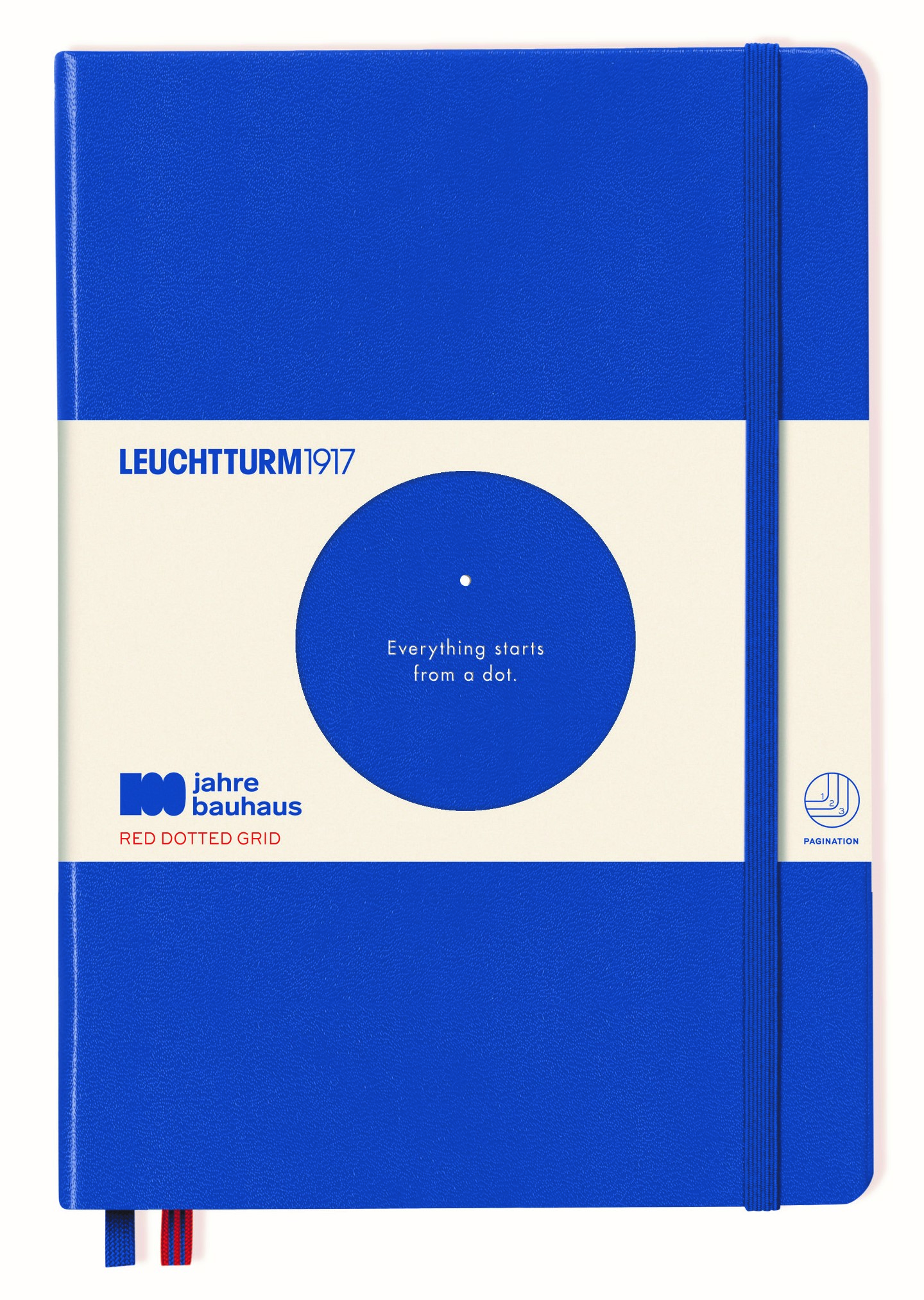 Royal Bauhaus Limited Edition Dotted Medium Notebook
