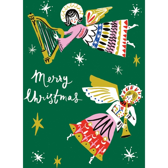 Xmas Charity Angelic Sounds Pack of 8 Cards