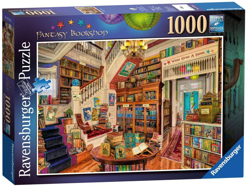 THE FANTASY BOOKSHOP 1000PC
