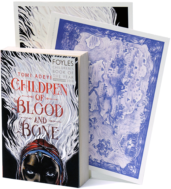Children of Blood and Bone with Limited Edition Print