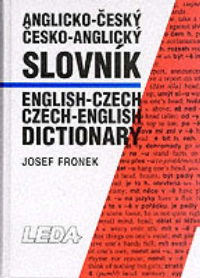 English-Czech and Czech-English Dictionary: Thumb Index