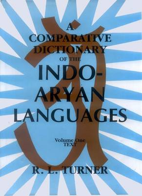 A Comparative Dictionary of the Indo-Aryan Languages