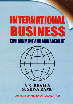 International Business: Environment and Management