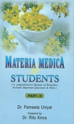 Materia Medica for Students: Part II