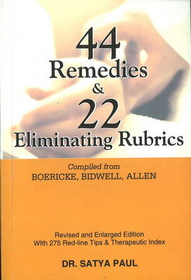 44 Remedies and 22 Eliminating Rubrics