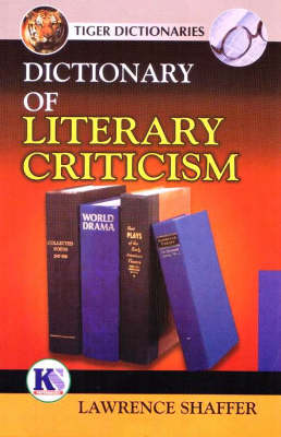 Dictionary of Literary Critcism