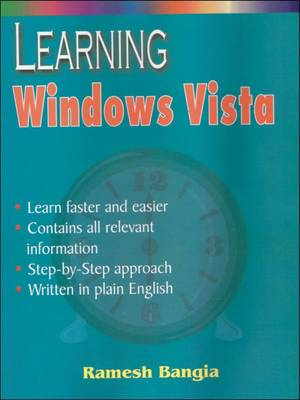 Learning Windows Vista