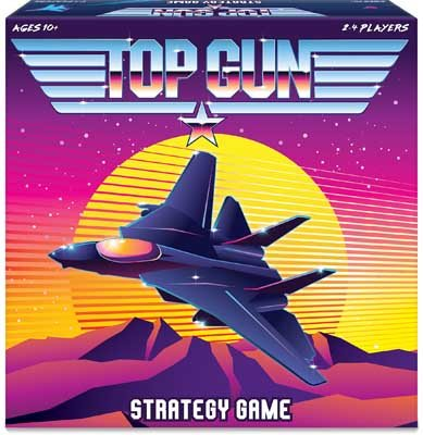 Top Gun Strategy Board Game