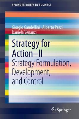 Strategy for Action - II: Strategy Formulation, Development, and Control