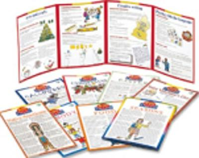 Active Posters: Set of 10 Posters with English Stickers