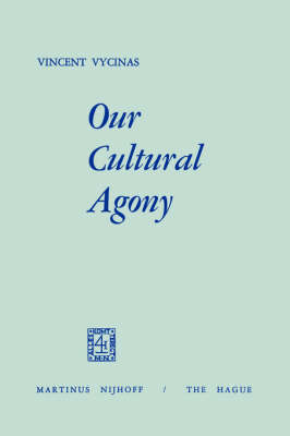 Our Cultural Agony