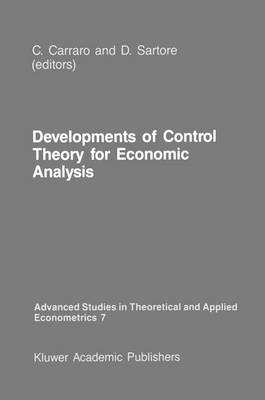 Developments of Control Theory for Economic Analysis