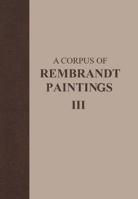 A Corpus of Rembrandt Paintings: 1635-1642