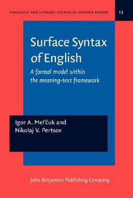 Surface Syntax of English: A formal model within the meaning-text framework