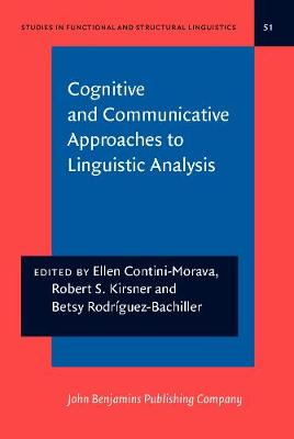 Cognitive and Communicative Approaches to Linguistics Analysis