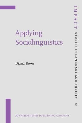 Applying Sociolinguistics: Domains and face-to-face interaction