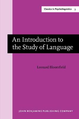 An Introduction to the Study of Language: New edition