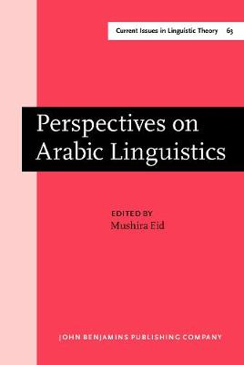 Perspectives on Arabic Linguistics: Papers from the Annual Symposium on Arabic Linguistics. Volume I: Salt Lake City, Utah 1987