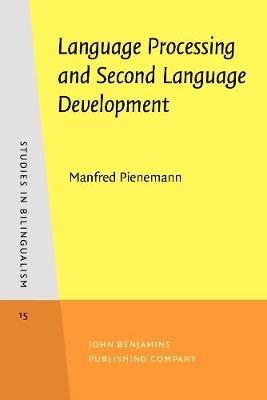 Language Processing and Second Language Development: Processability theory