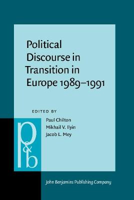 Political Discourse in Transition in Europe, 1989-91