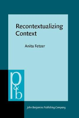 Recontextualizing Context: Grammaticality meets appropriateness