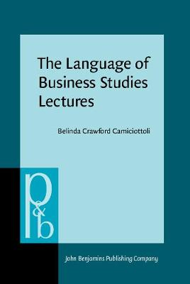 The Language of Business Studies Lectures: A corpus-assisted analysis