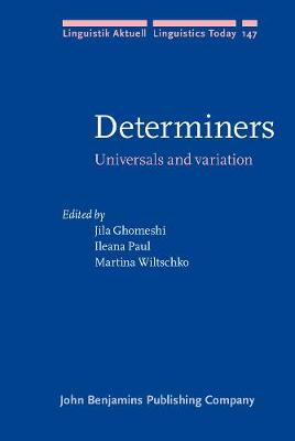 Determiners: Universals and variation