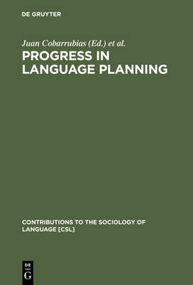 Progress in Language Planning: International Perspectives
