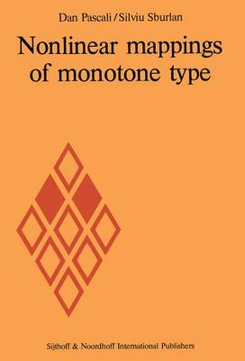 Nonlinear mappings of monotone type