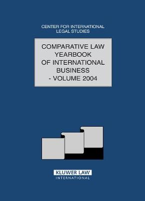 Comparative Law Yearbook of International Business: v. 26