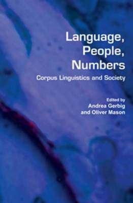 Language, People, Numbers: Corpus Linguistics and Society