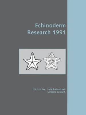 Echinoderm Research 1991