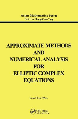 Approximate Methods and Numerical Analysis for Elliptic Complex Equation