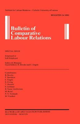 Bulletin of Comparative Labour Relations: Employed or Self-Employed