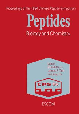Peptides: Biology and Chemistry