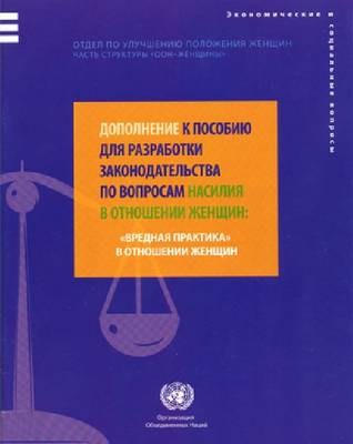Supplement to the Handbook for Legislation on Violence Against Women (Russian Language)