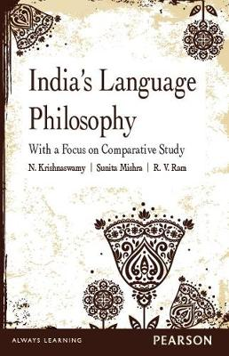 India's Language Philosophy: With a Focus on Comparative Study