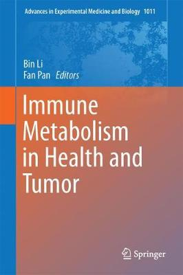 Immune Metabolism in Health and Tumor